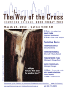 Way of the Cross - Flyer for 2013